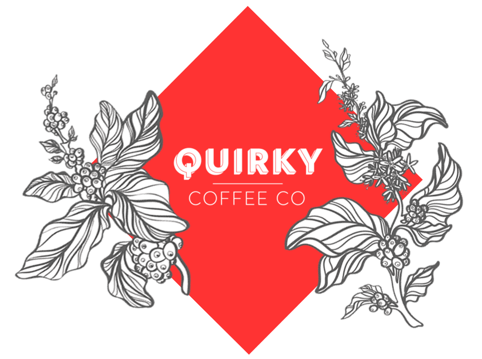 quirky coffee company brand