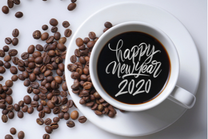 new year coffee