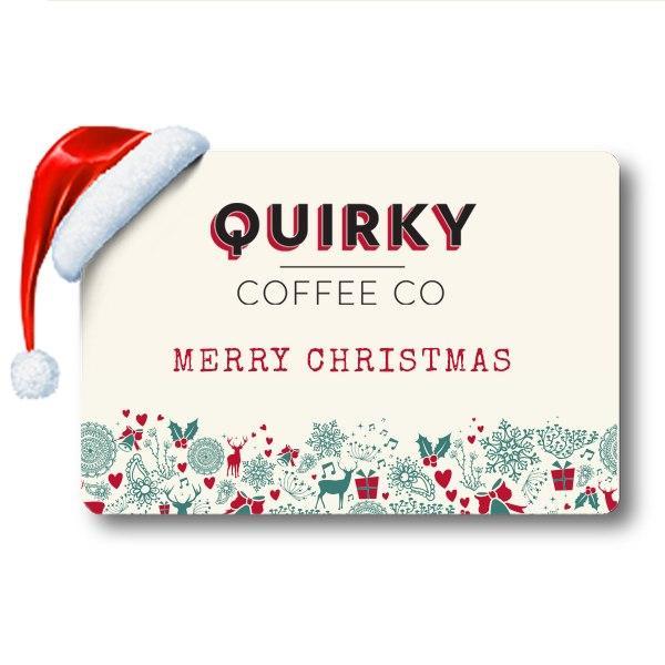 coffee christmas gift card