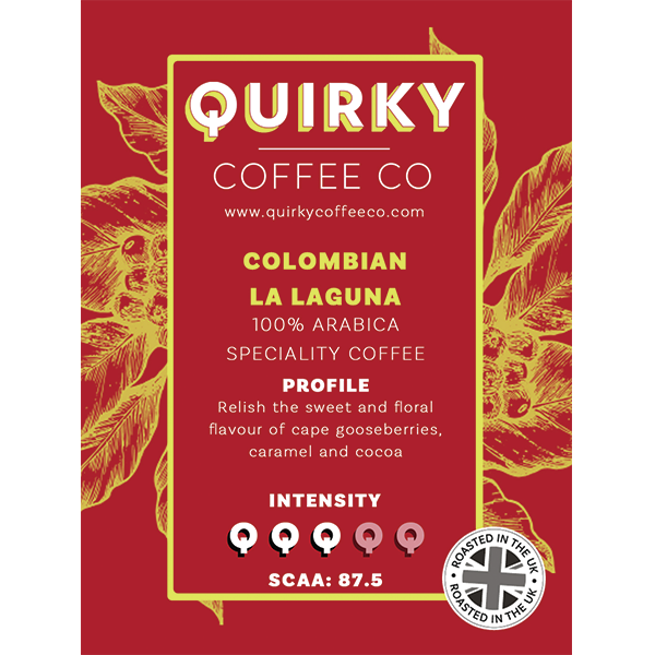 colombian la laguna coffee