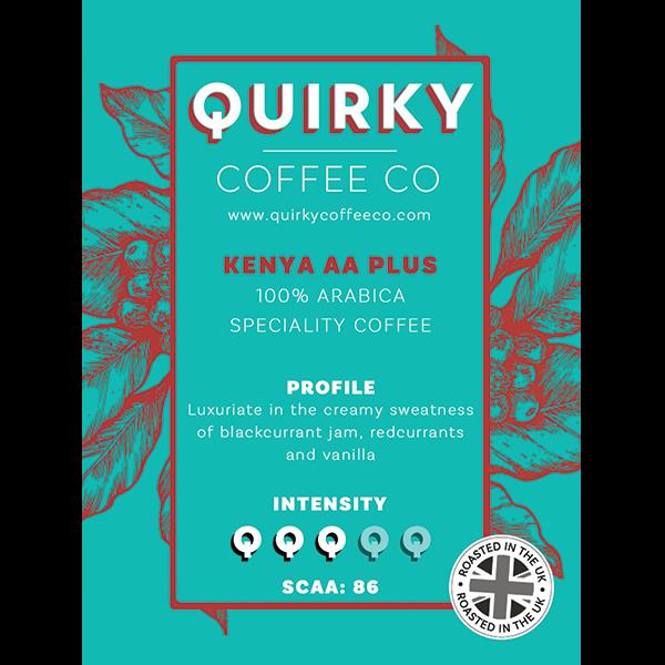 kenya aa plus coffee