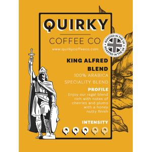 king alfred blend coffee
