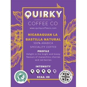 nicaraguan la bastilla natural coffee