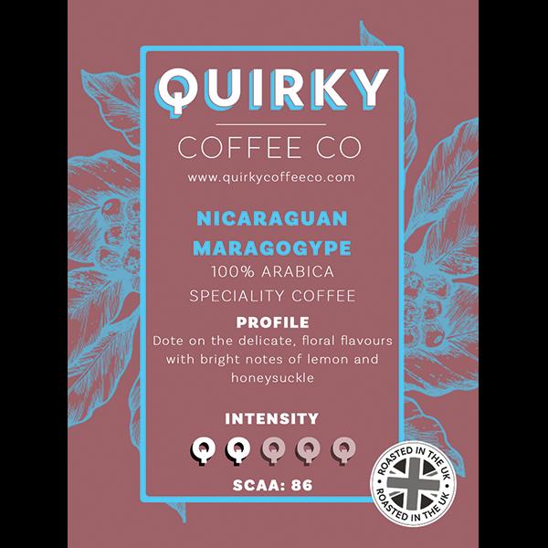 nicaraguan maragogype coffee