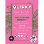 peruvian cafe femenino coffee