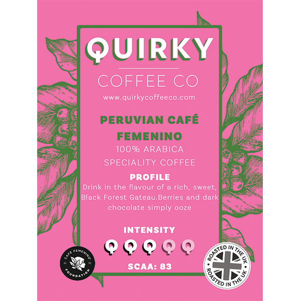 peruvian cafe femenino coffee
